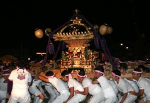 16日(日)厳島神社神輿練行・渡御